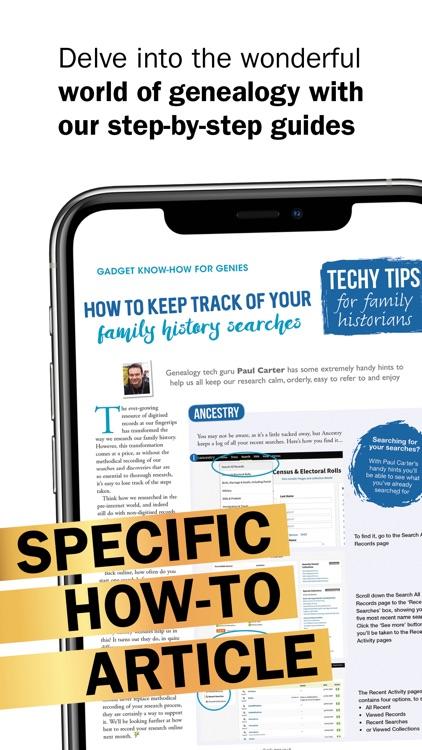 Family Tree Magazine. screenshot-4