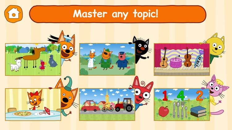 Kid-E-Cats: Toddler Games ABC!