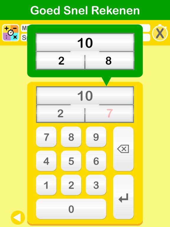 Goed Snel Rekenen iPad app afbeelding 1