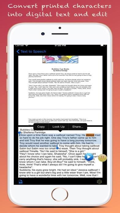 Text to Speech : Text to Voice Screenshots