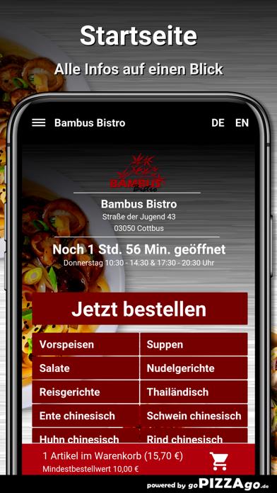 Bambus Bistro Cottbus screenshot 2