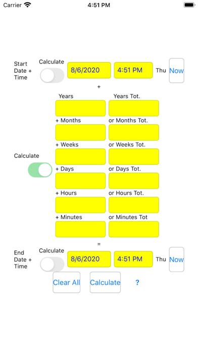 TimeDateCalculator Screenshots