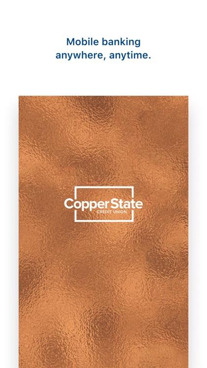 Copper State CU Mobile Banking screenshot-3