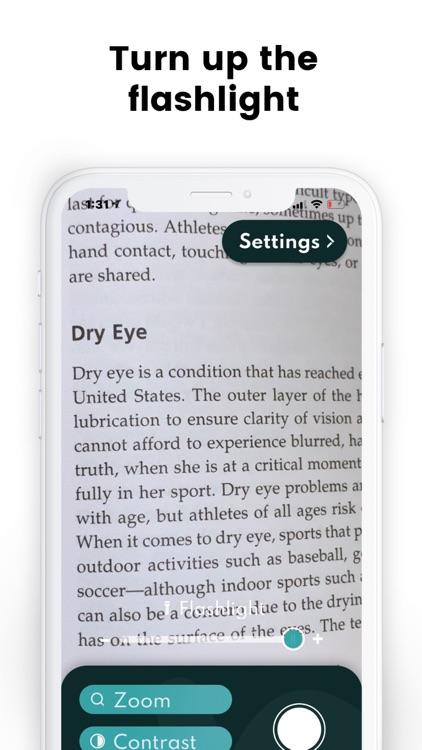 Readers - Magnifying Glass screenshot-3