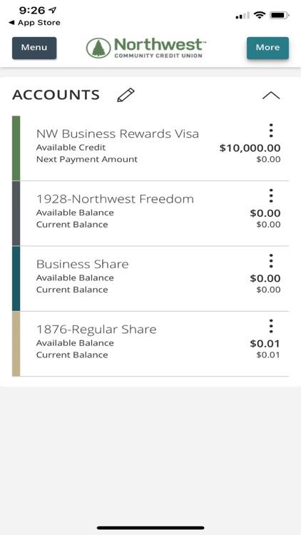 Northwest Community eBanking screenshot-3