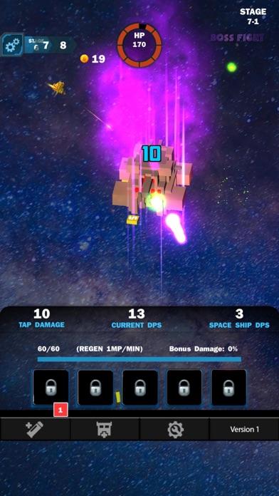 Idle Sci-Fi Battle screenshot 3