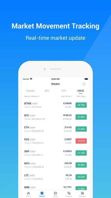 BitMax-Digital Asset Exchange screenshot-3