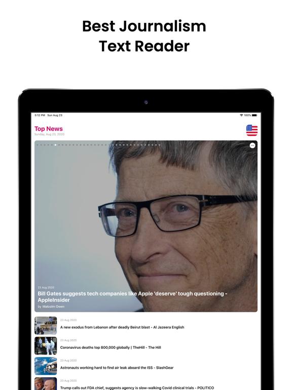 Audiofy -News Book Text Reader screenshot 10