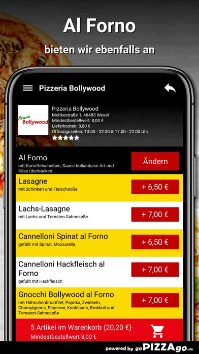 Pizzeria Bollywood Wesel screenshot 5