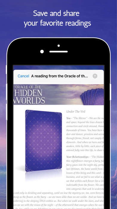 Screen Shot Oracle of the Hidden Worlds 8
