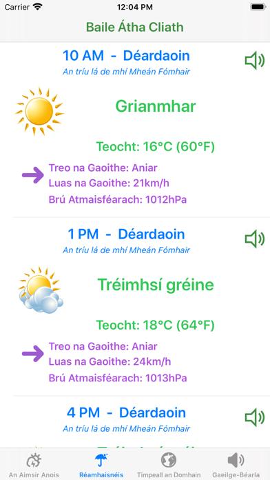 Aimsir - The Weather in Irishのおすすめ画像1