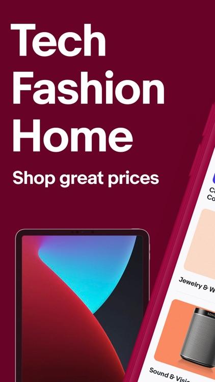 eBay Shopping: Buy, sell, save screenshot-0