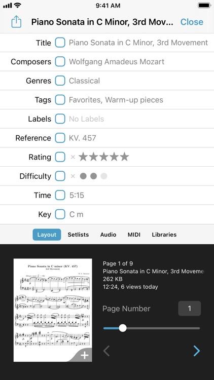forScore screenshot-7