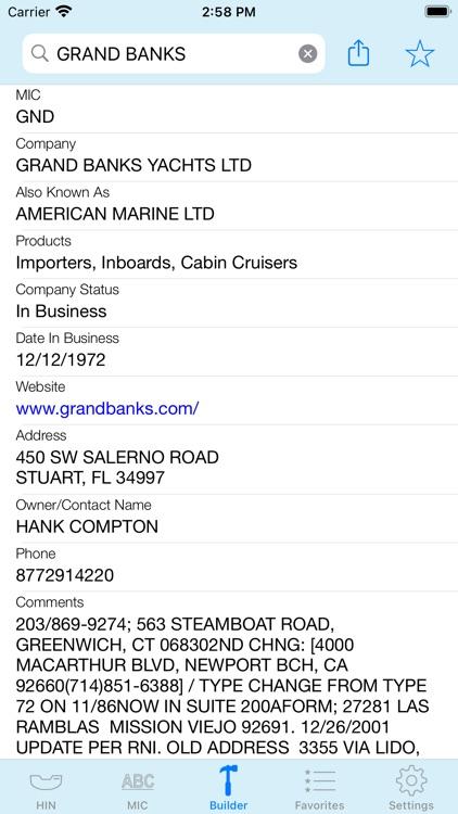 HIN Search - Boat HIN Decoder screenshot-3