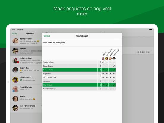 Threema. De veilige messenger iPad app afbeelding 6