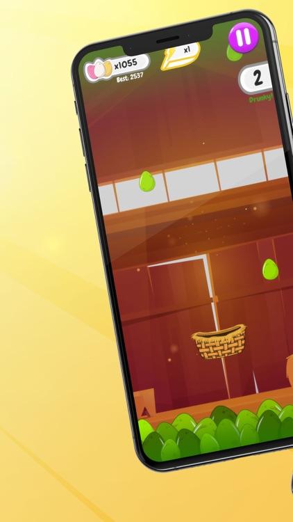 Egg Rain - Collect in basket screenshot-7