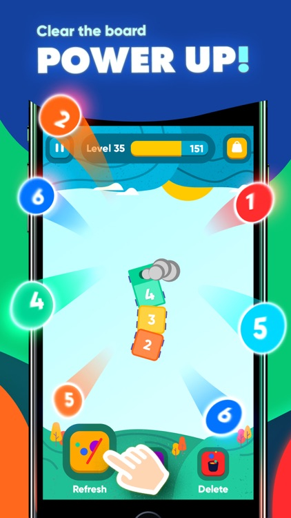 IQ Train -  Number Snake Game