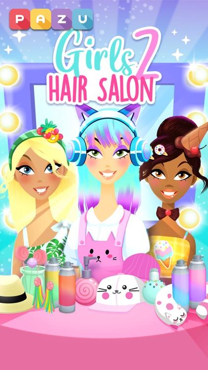 Girls Hair Salon 2 screenshot-0