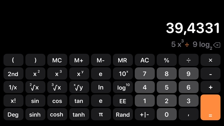 Calculator Air - Math Calc screenshot-3