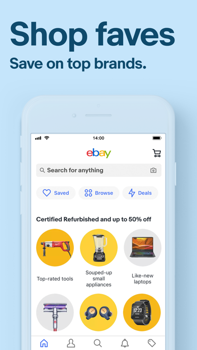 eBay - Buy and sell on the go Screenshot