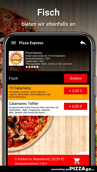 Pizza-Express Hildesheim screenshot 6