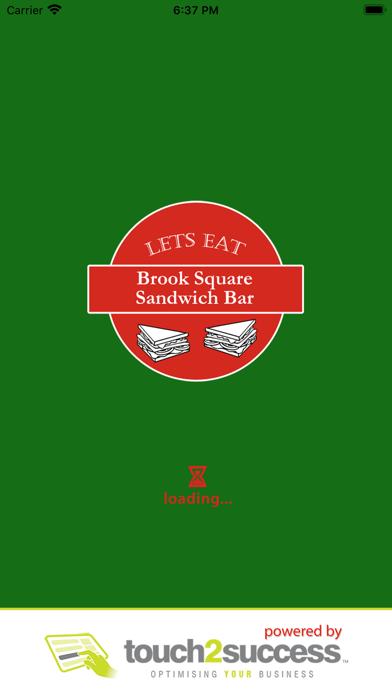 Lets Eat Brook Square. Screenshot
