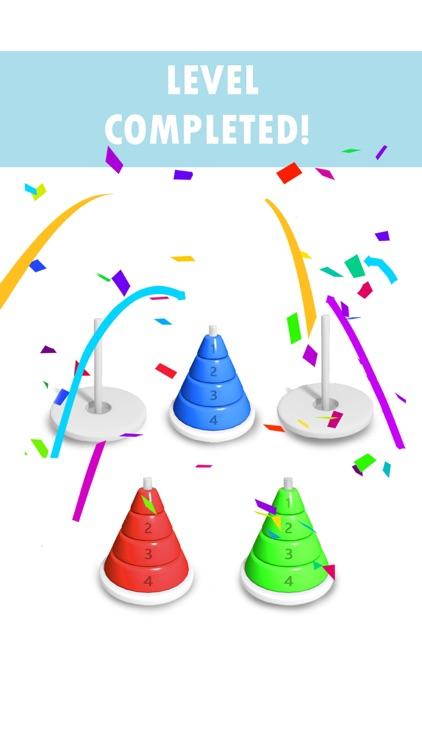 Hoop Stack 3D: Draw Sort Ring screenshot-3
