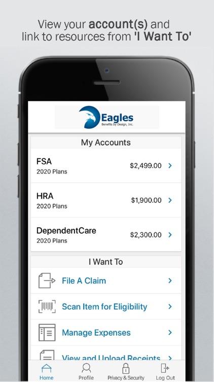 Eagles Benefits Mobile