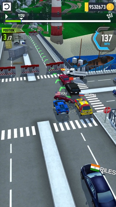 Turbo Tap Race screenshot 2