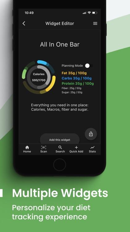 Simple Macros - Diet Tracker screenshot-5