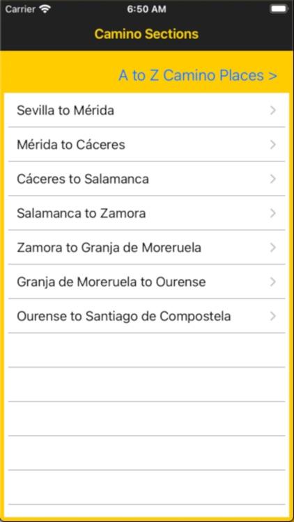 Vía de la Plata Guide screenshot-4