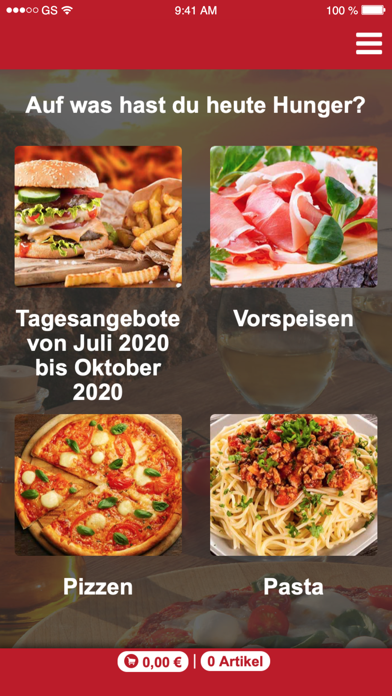 Antonios Pizza-Taxi screenshot 2