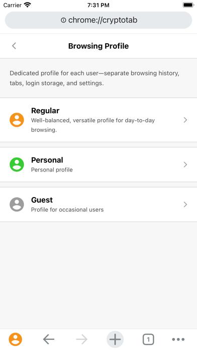 CryptoTab Browser Pro screenshot 8