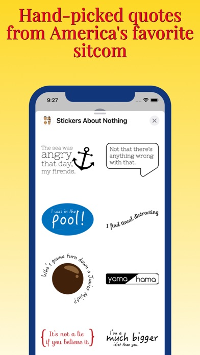 Stickers About Nothing screenshot 3