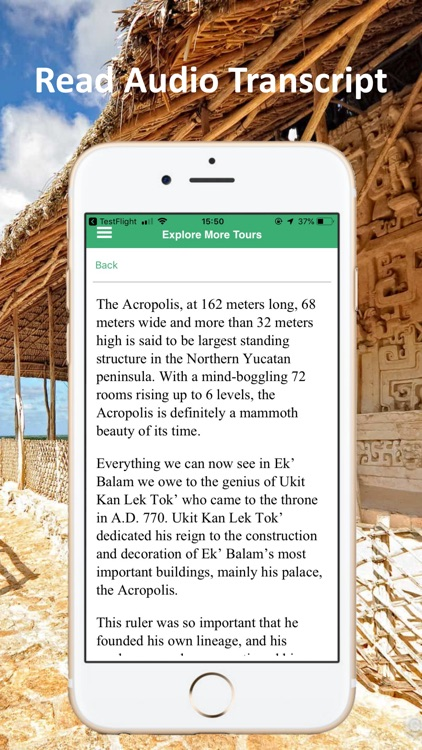 Ek Balam Cancun Mexico Tour screenshot-4
