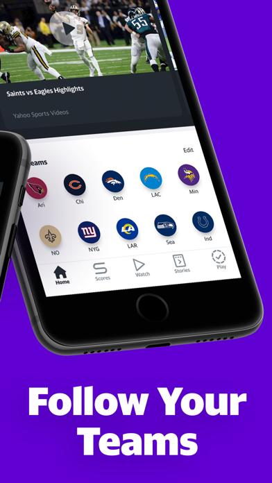 Yahoo Sports: Watch NFL games Screenshot