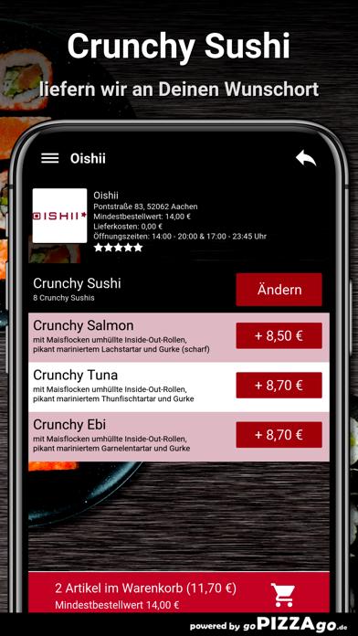 Oishii Aachen screenshot 6