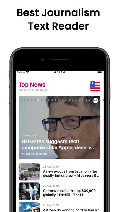 Audiofy -News Book Text Reader screenshot 2