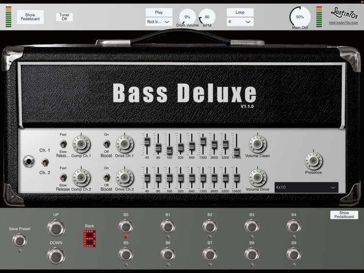 Bass Deluxe amp