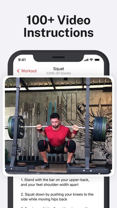 StrongLifts 5×5 -ジム 筋トレ 記録 &管理のおすすめ画像3
