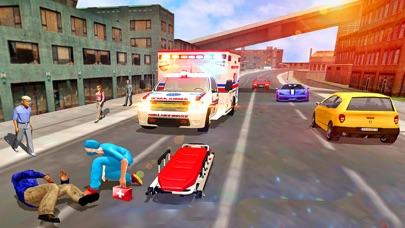 市 救急車 救援 運転のおすすめ画像3