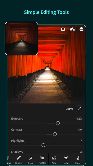 Adobe Lightroom Photo Editor для ПК