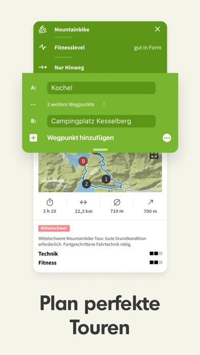 messages.download Komoot — Fahrrad & Wander Navi software