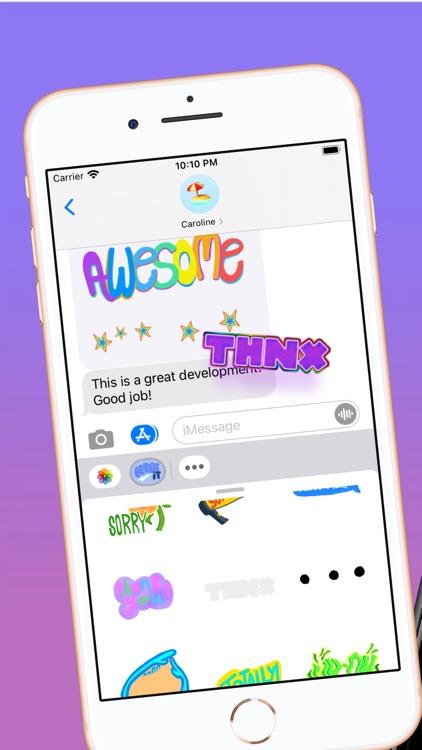 Express It! Animated Stickers screenshot-3
