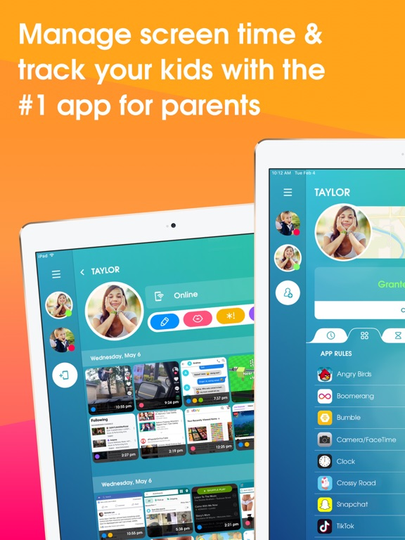 OurPact – Parental Control and Screen Time Management screenshot