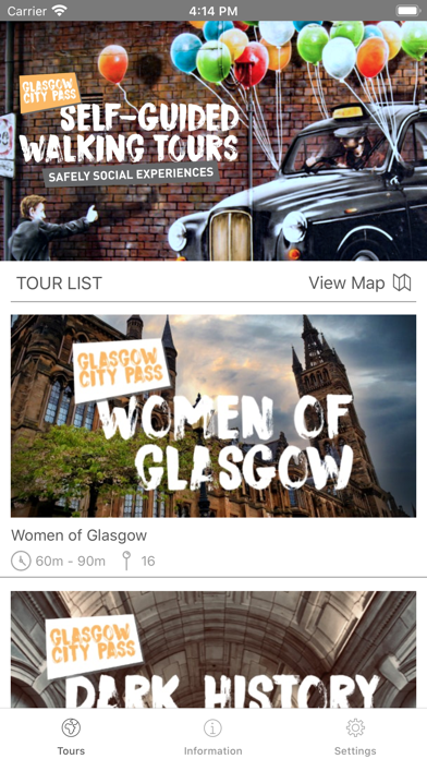 Glasgow Walking Tours Screenshot