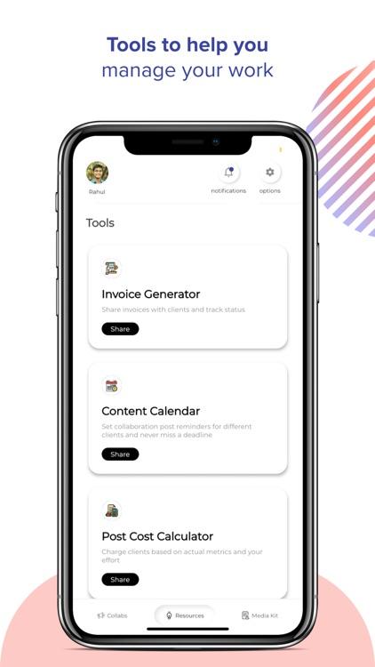 Winkl Influencer brand collabs screenshot-6
