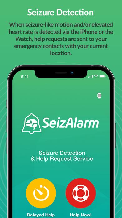 SeizAlarm: Seizure Detection Screenshot