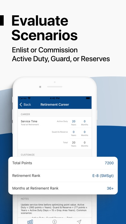 Military Money: Pay & Pension screenshot-6