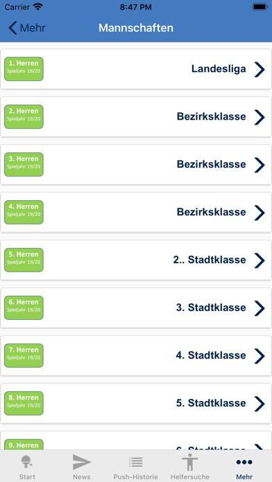 TischtennisvereinRadebeul e.V.Screenshot von 4